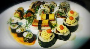 Sushi Vegan  em Lisboa @ Hotel Gat's rooms