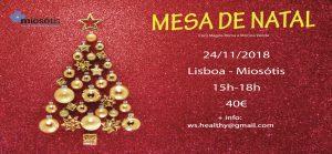 Showcooking de Mesa de Natal 2018 @ Miosótis - Supermercado biológico