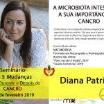 Diana Patrício no Seminário 5 Mudanças – antes, durante e depois do Cancro