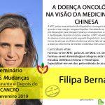 Diana Patrício no Seminário 5 Mudanças – antes, durante e depois do Cancro em Lisboa