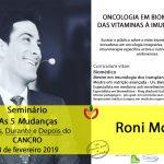 Roni Moya no Seminário 5 Mudanças – antes, durante e depois do Cancro em Lisboa