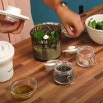 Pesto ou Pasta de caju e grão germinado